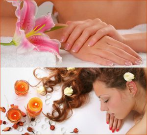 spa hand and hair